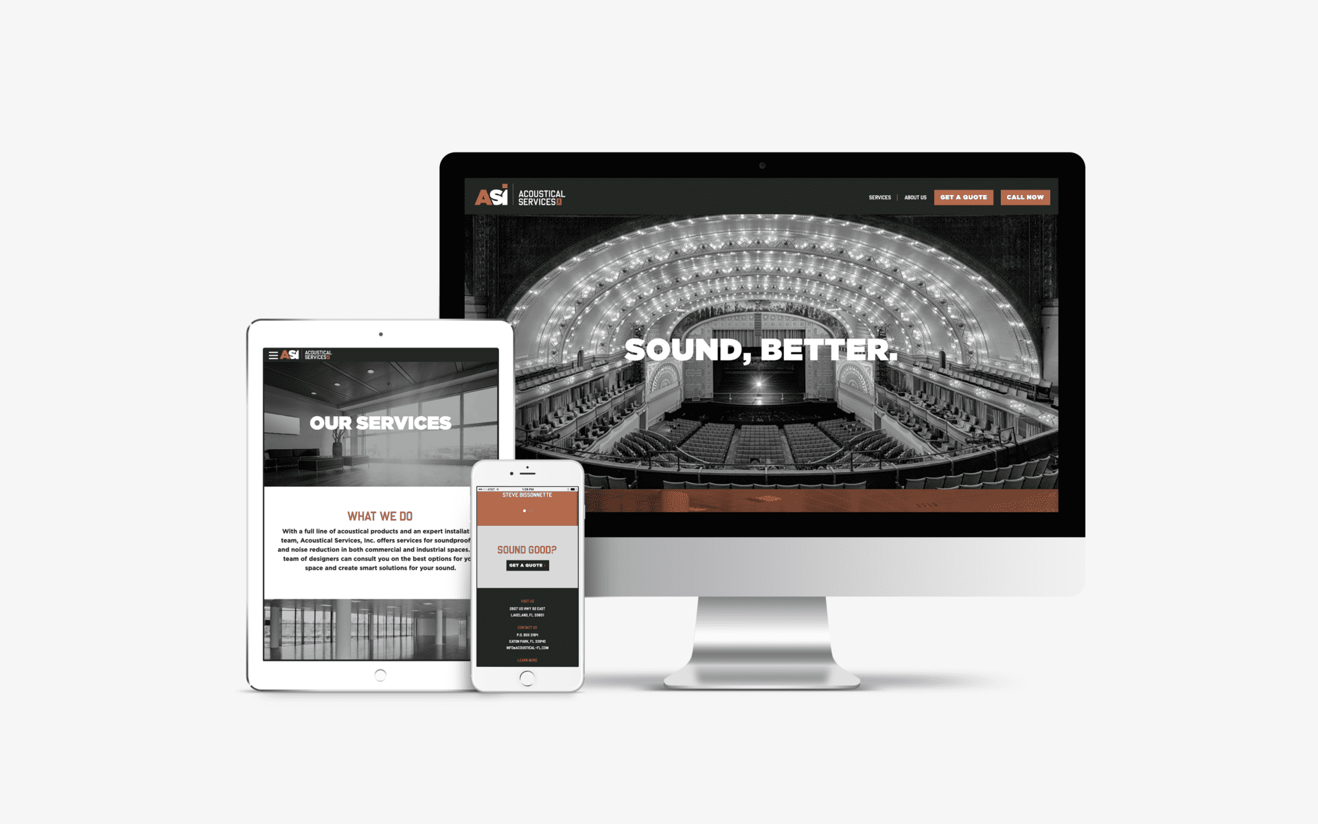 Website Design, Mobile Responsive Website, Corporate Rebrand Nashville