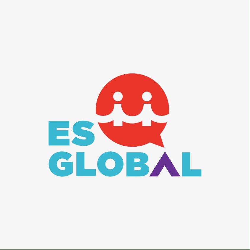 logo design experts create logo for es global