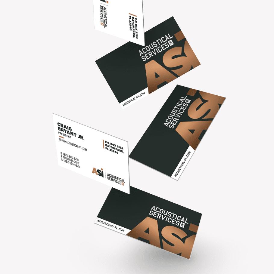 Corporate Rebrand Nashville, Business Card Design