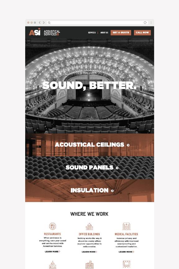 Website Design, Mobile Responsive Website, Corporate Rebrand Nashville