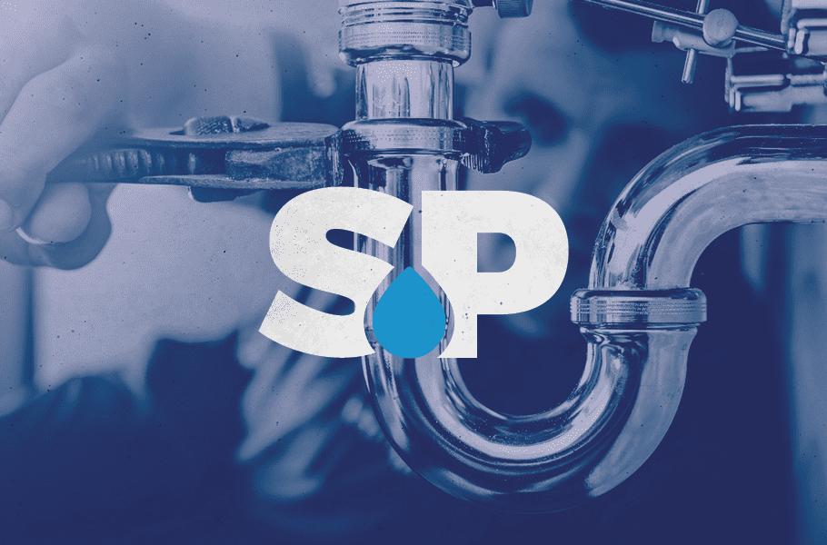 Stuart's Plumbing Logo Icon by Nice Branding Agency