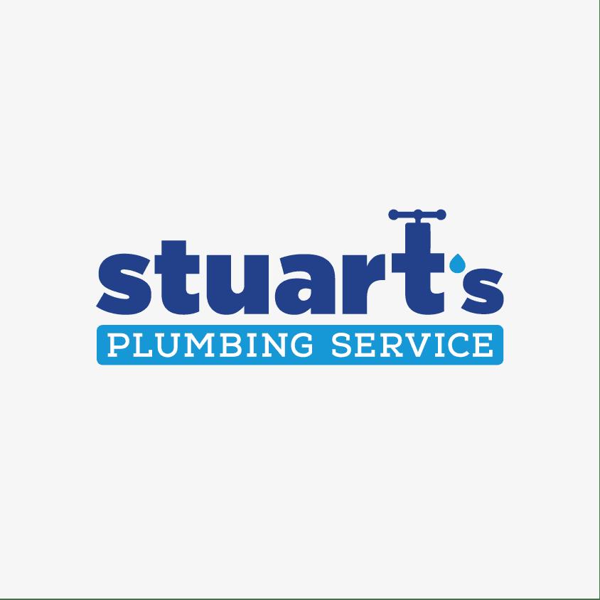 Stuart's Plumbing Logo By Nice Branding Agency